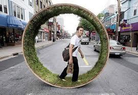 human hamster wheel