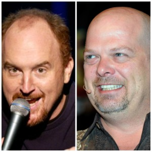 He went from Louis CK doppelganger (seriously, he looks just like him) to Rick from Pawn Stars