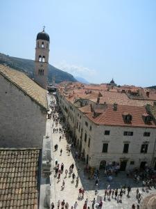 Old Town's Stradun Street