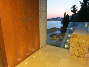 The entry to the Villa Dubrovnik