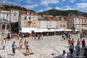 Hvar Town (not my picture, by the way)
