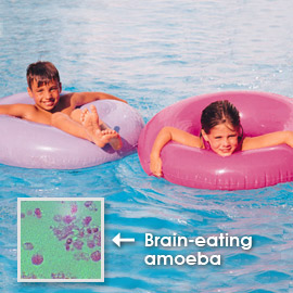 Death and danger are everywhere. A pink floatie will not save you.