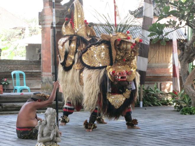 Balinese barung dance