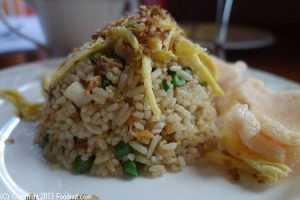 Nasi Goreng at St. Regis