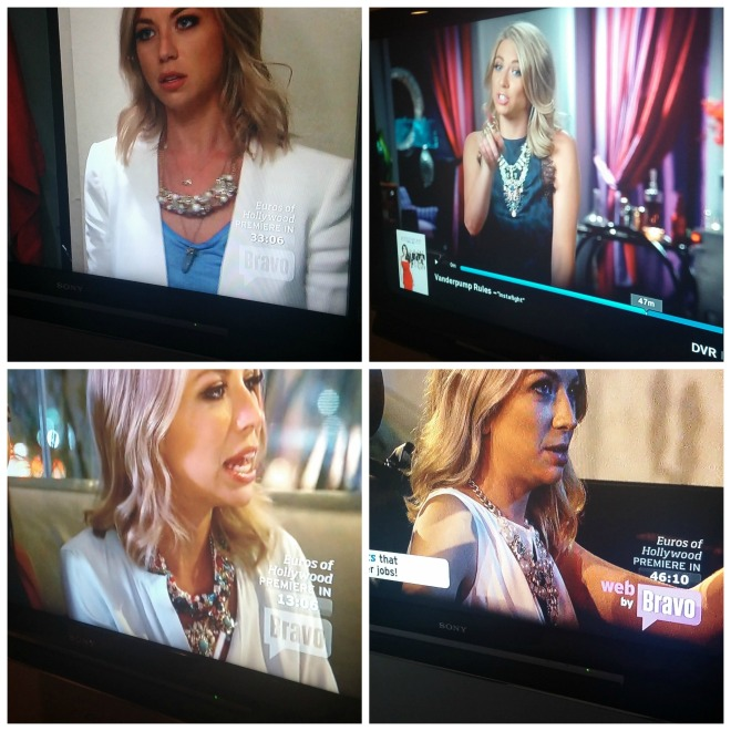 Stassi of Vanderpump Rules loves a statement necklace.
