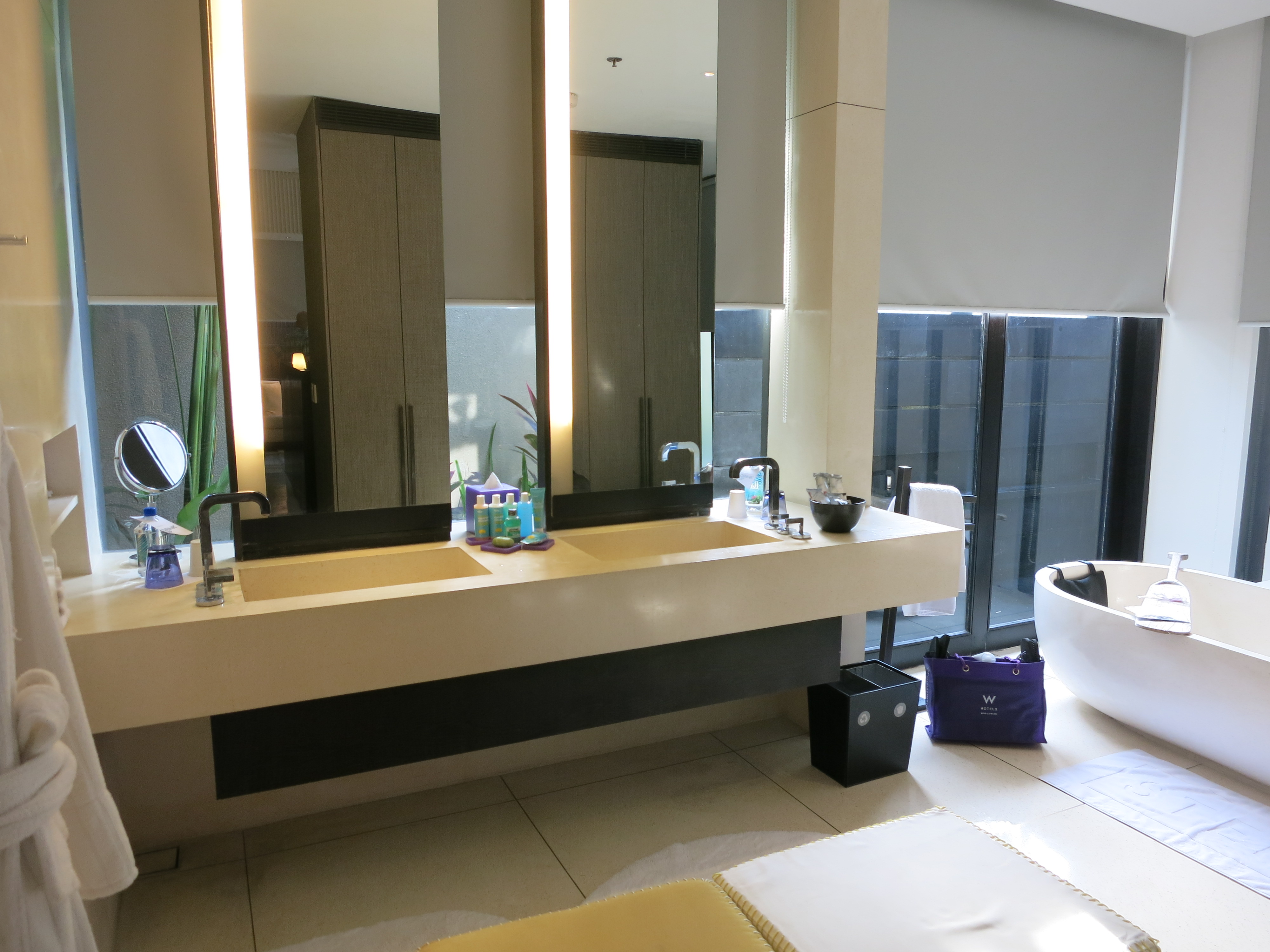 The gallery for --> W Hotel Bathroom