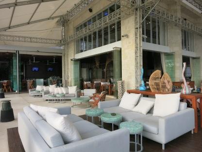 W Hotel outdoor bar