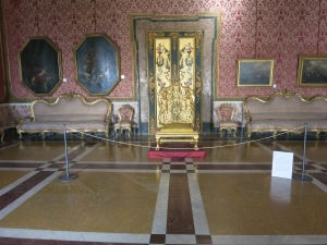 A Throne Room at the Royal Palace, Naples