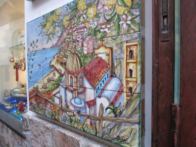 Positano graffiti