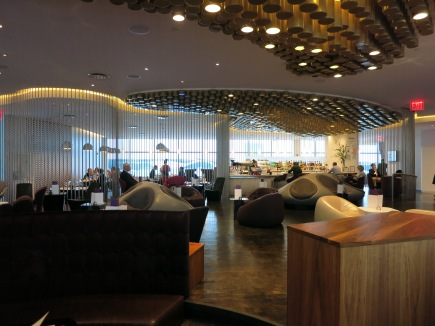 Virgin Atlantic Clubhouse interior