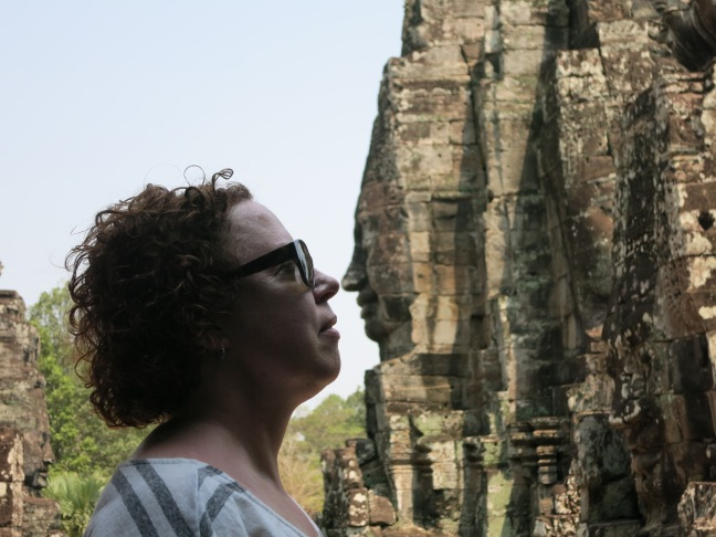 Poe's nose at Bayon