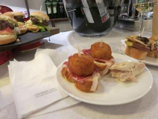 Bilbao - coquettas y jamon