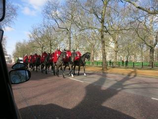 horsies at Buckingham Palace