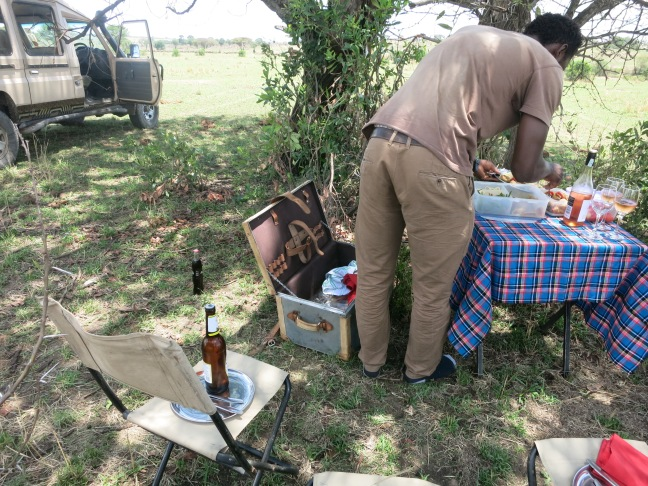 Bush lunch in Tanzania, Lemala Kuria Hills