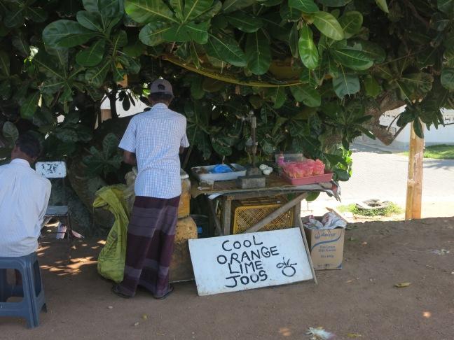 Vendor in Galle