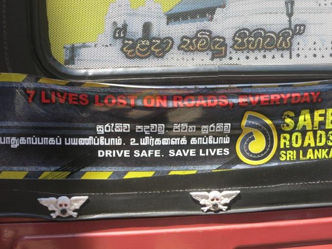 Sri Lanka road safety